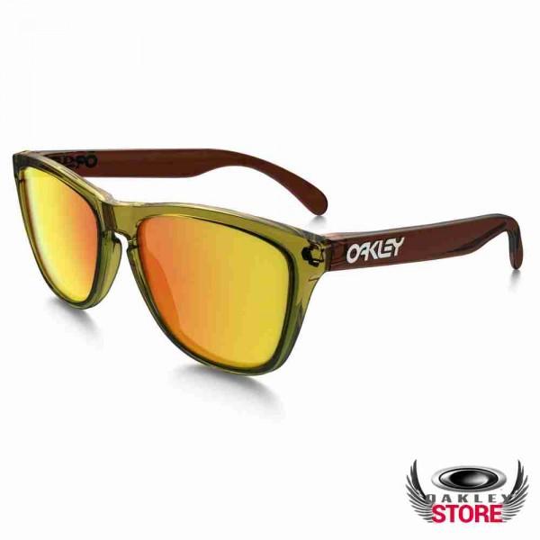 f6ddcdf9693 Cheap Fake Oakley Frogskin Sunglasses Moto Octane Brown   Fire ...