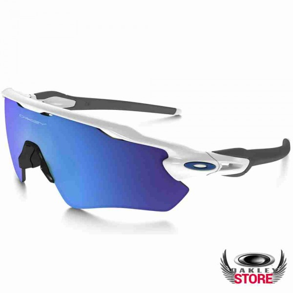 035bc2904 ... Cheap Fake Oakley Radar EV Path Sunglasses Polished White / Sapphire  Iridium Sale ...