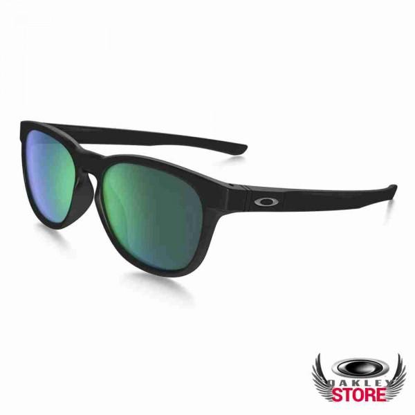 5c61897ec9d Cheap Fake Oakley Stringer Sunglasses Matte Black   Jade Iridium Sale