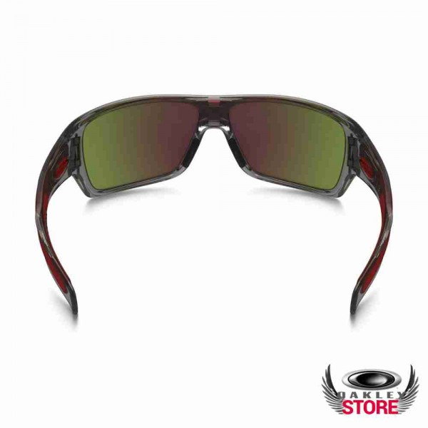 4cb43598aa Cheap Fake Oakley Turbine Rotor Sunglasses Grey Ink   Ruby Iridium Sale