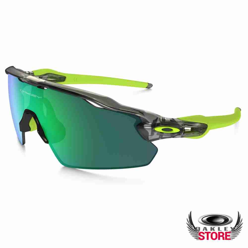 39e8628629b Cheap Fake Oakley Radar EV Pitch Grey Ink   Jade Iridium Sale