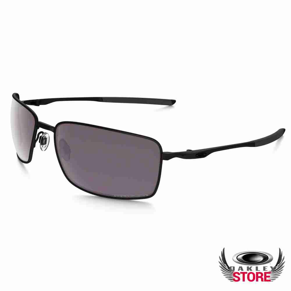 f060620525 Cheap Fake Oakley Prizm Square Wire Sunglasses Matte Black   Prizm Daily  Polarized Sale
